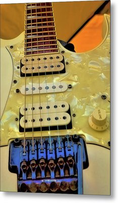 The Ibanez Guitar 2 Metal Print