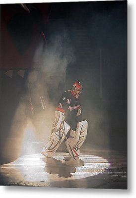 Metal Print featuring the photograph The Iceman Cometh by Ron Dubin