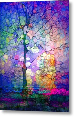 The Imagination Of Trees Metal Print