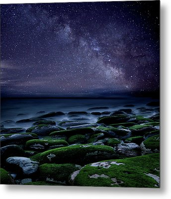 Metal Print featuring the photograph The Immensity Of Time by Jorge Maia
