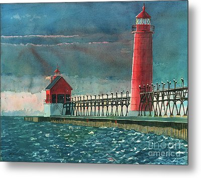 The Impending Storm Metal Print by LeAnne Sowa