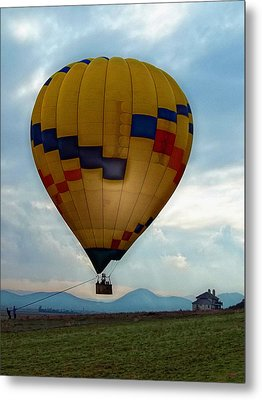 The Impressionable Balloon Metal Print by Glenn McCarthy Art and Photography