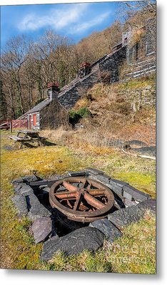 The Incline Metal Print