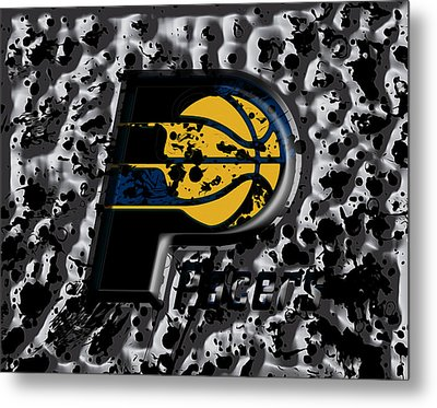The Indiana Pacers Metal Print