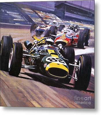 The Indianapolis 500 Metal Print