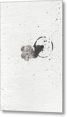 The Inexplicable Ignition Of Time Expanding Into Free Space Phase One Number 18 Metal Print
