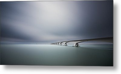 The Infinite Bridge Metal Print by Arthur Van Orden