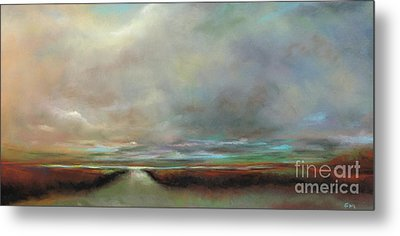 The Inlet Metal Print by Frances Marino