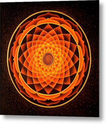 The Inner Fire Metal Print