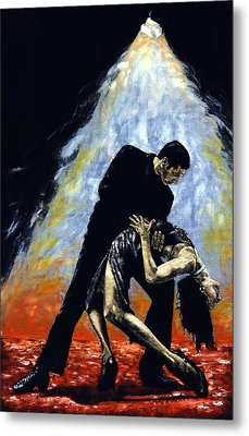 The Intoxication Of Tango Metal Print by Richard Young