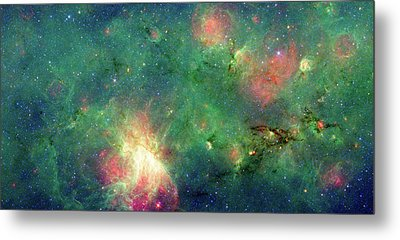 Metal Print featuring the photograph The Invisible Dragon by NASA JPL-Caltech