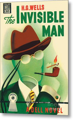 Metal Print featuring the painting The Invisible Man by Gerald Gregg