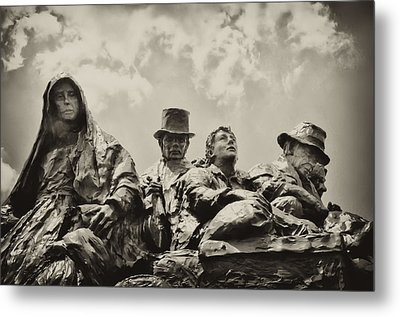 The Irish Emigration Metal Print by Bill Cannon