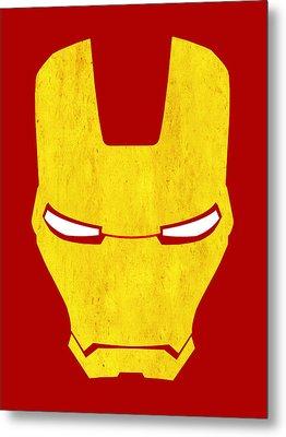 The Iron Man Metal Print by Mark Rogan