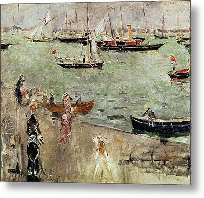 The Isle Of Wight Metal Print by Berthe Morisot