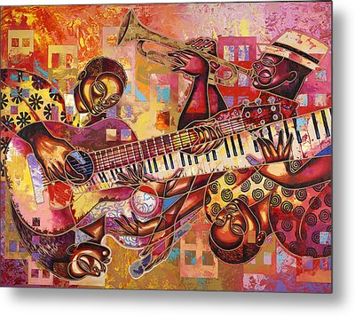 The Jazz Dimension  Metal Print