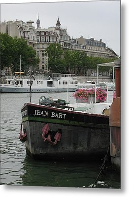 Metal Print featuring the photograph The Jean Bart by Nancy Taylor