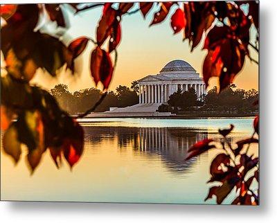 Jefferson In Autumn Metal Print