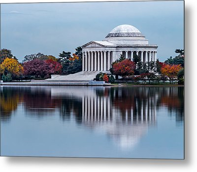 The Jefferson In Baby Blue Metal Print by Ed Clark