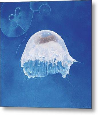 The Jellyfish Nursery Metal Print