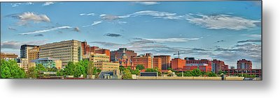 Metal Print featuring the photograph The Johns Hopkins Hospital Complex by Mark Dodd
