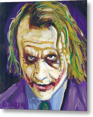 The Joker Metal Print by Buffalo Bonker