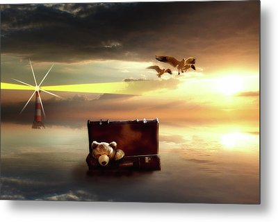 The Journey Begins  Metal Print by Nathan Wright