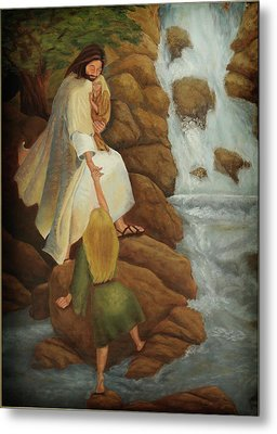 The Journey Metal Print by Denise Gater