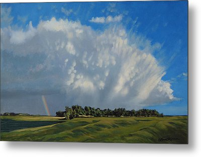 The June Rains Have Passed Metal Print by Bruce Morrison