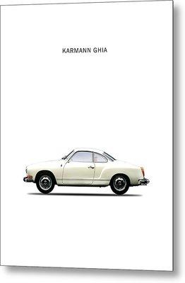 The Karmann Ghia Metal Print by Mark Rogan