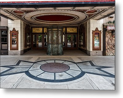 The Keith - Albee Theatre Metal Print by Mountain Dreams