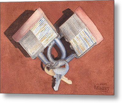The Keys To My Heart Metal Print by Ken Powers