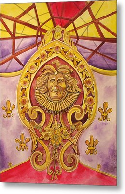 The King Of The Carousel Metal Print