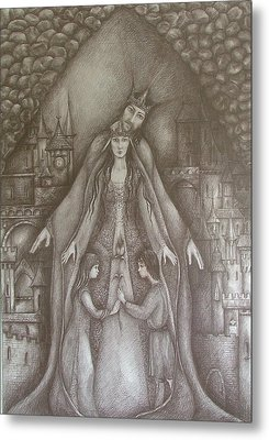 Royal Family Metal Print by Rita Fetisov