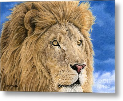 The King Metal Print by Sarah Batalka