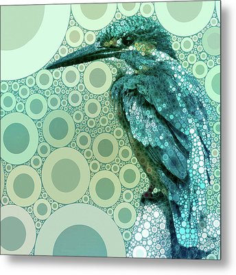 The Kingfisher Metal Print