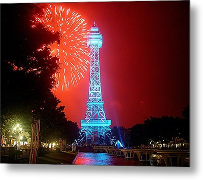 The King's Tower Metal Print by Barkley Simpson