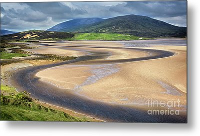 The Kyle Of Durness Metal Print by Janet Burdon