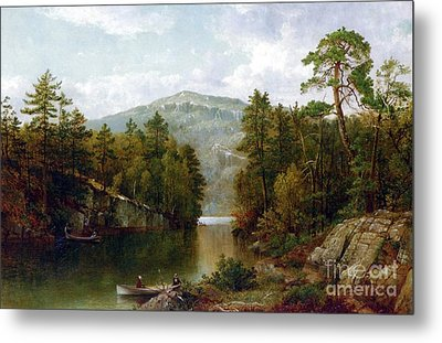 The Lake George Metal Print by David Johnson