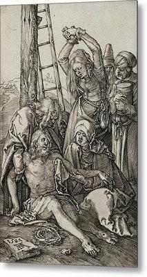 The Lamentation Metal Print by Albrecht Durer