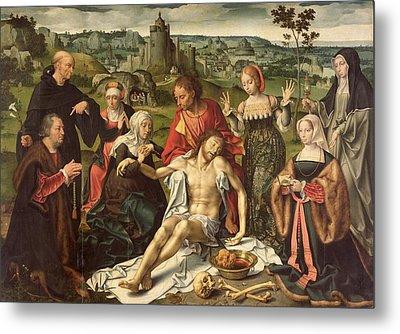 The Lamentation Of Christ Metal Print by Joos van Cleve