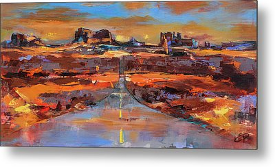 The Land Of Rock Towers Metal Print