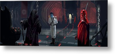 The Last Grand Admiral Metal Print by Ryan Barger