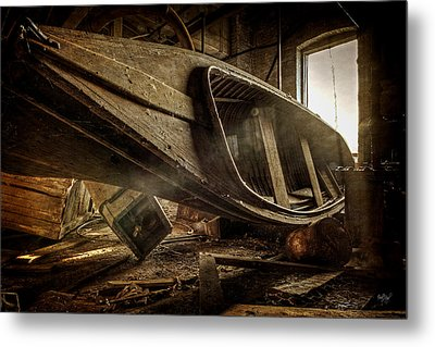 The Last Port Metal Print by Everet Regal