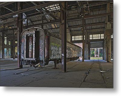 The Last Pullman Car Metal Print