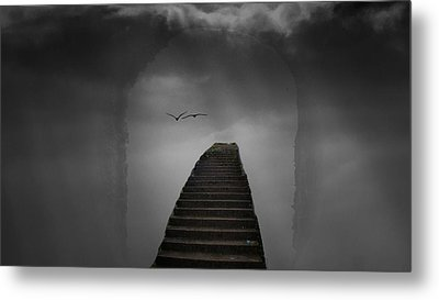 Metal Print featuring the photograph The Last Steps by Keith Elliott