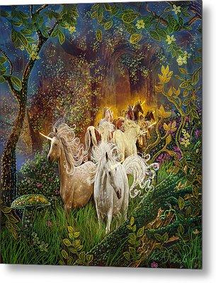 The Last Unicorns Metal Print by Steve Roberts
