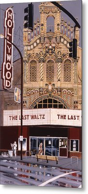 The Last Waltz Metal Print by Mike Hill