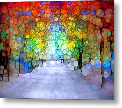 The Laughing Forest Metal Print by Tara Turner