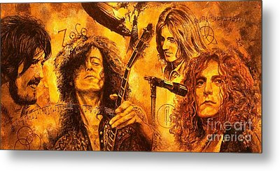 The Legend Metal Print